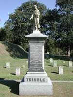 Superintendent Trindle Family Marker