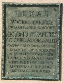 Texas unit marker