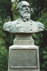 Brig. Gen. William Vandever, bronze bust