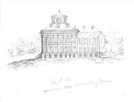 Sketch of Windsor Plantation House