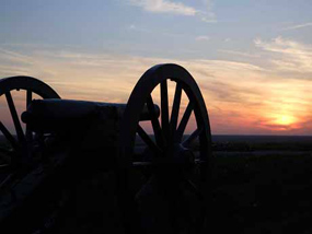 Sunset at Fort Hill