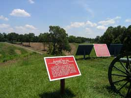 Railroad Redoubt Battlefield Restoration