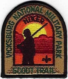 Al Scheller Trail Hiking Patch Award