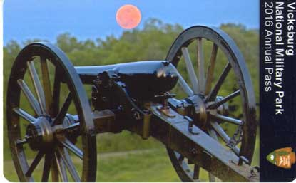 Moon over cannon