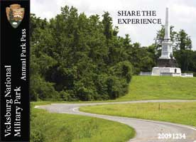 Vicksburg National Military Park Annual Pass