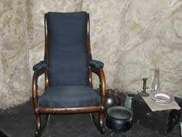 Rocking Chair and Household Items Exhibit