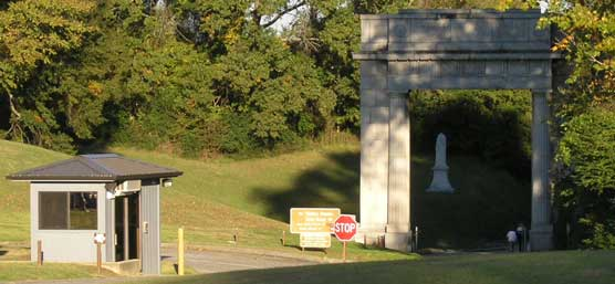 Entrance Fee Station and Memorial Arch