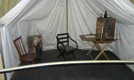 Field Officer's Tent Exhibit