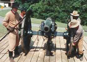 Moving the Cannon into Position