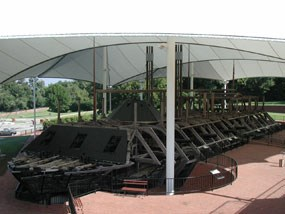 USS Cairo Exhibit