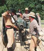 Preparing to Load the Cannon