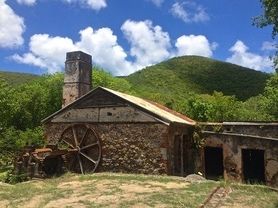The Reef Bay Sugar Mill