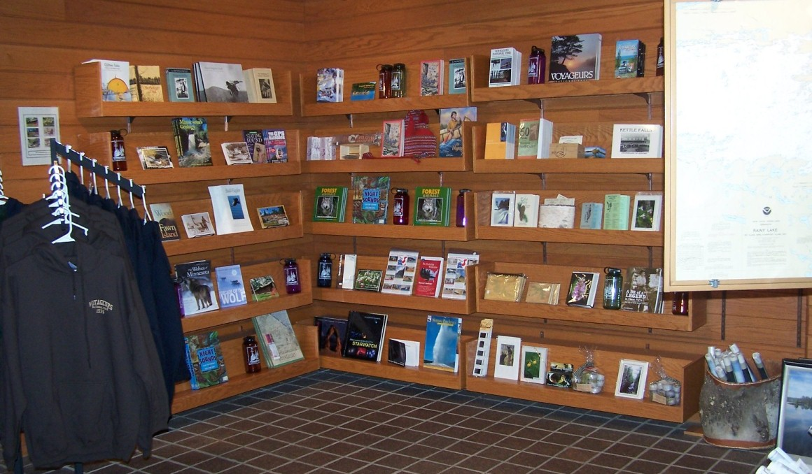 Rainy Lake Visitor Center Bookstore