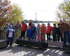 Kids enjoy a field trip to Voyageurs N.P.