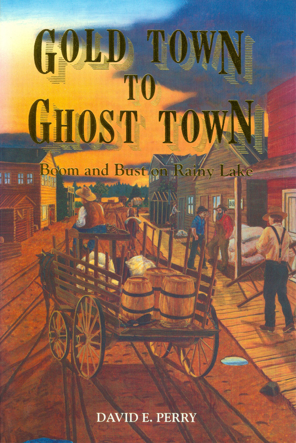 'Gold to Ghost' Book Cover