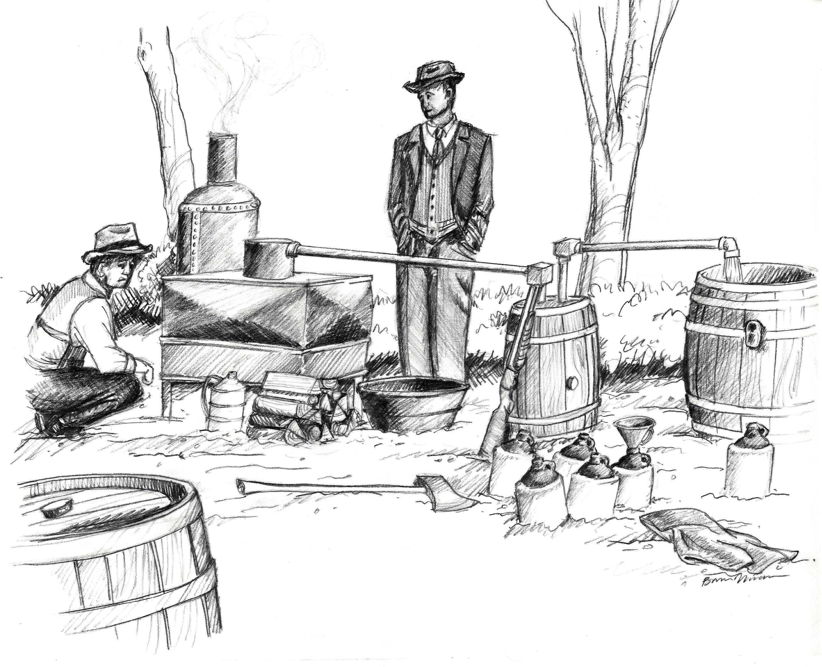 Prohibition Sketch