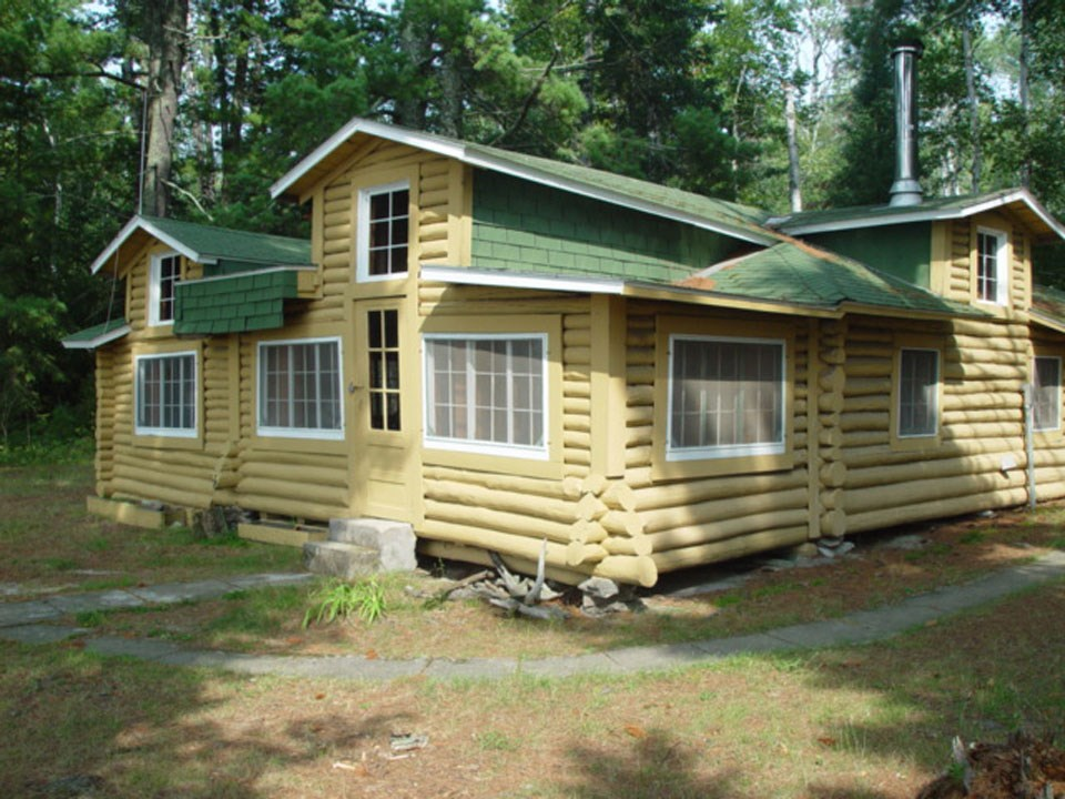The Casareto Summer Cabin is a historic cabin one can visit located on the north shoreline of Crane Lake.