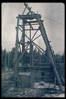 Gold mine shaft