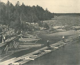 Logging near Kettle Falls
