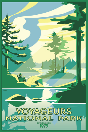 New Poster Just Released At Voyageurs National Park Voyageurs National Park U S National Park Service