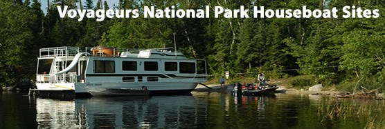 Voyageurs National Park Houseboat Site Gallery