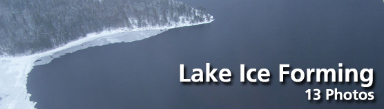 "Click here for ""Lake Ice Forming"" photo gallery"
