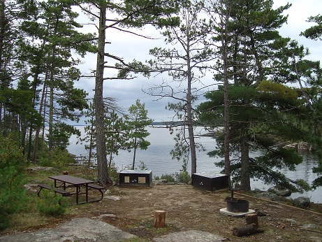 Types Of Campsites And Amenities Available Voyageurs