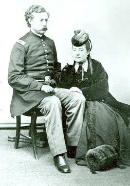 Photograph of Albert and Jennie Barnitz