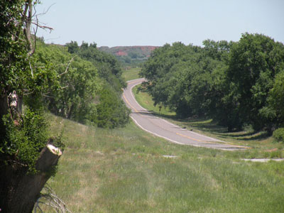 Black kettle Memorial Highway/Oklahoma State Highway 47A