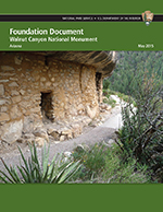 Foundation Document cover featuring a photo of a one-room cliff dwelling. Click to open the document.