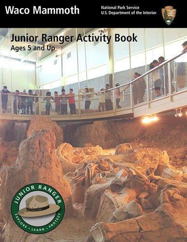 Cover of the Junior Ranger Activity Book