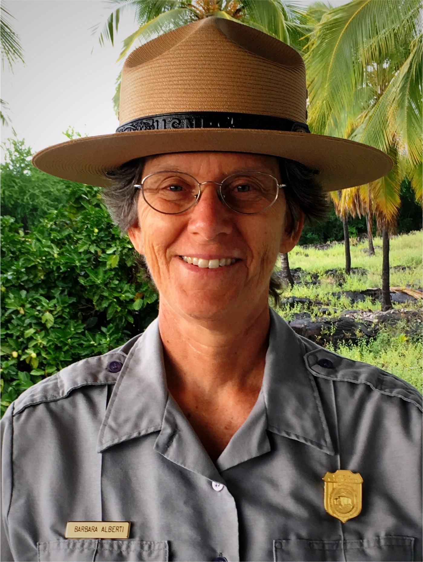 Barbara Alberti superintendent of War in the Pacific National Historical Park in Guam and American Memorial Park