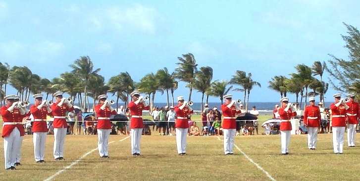 Drum & Bugle Corps at Asan Beach