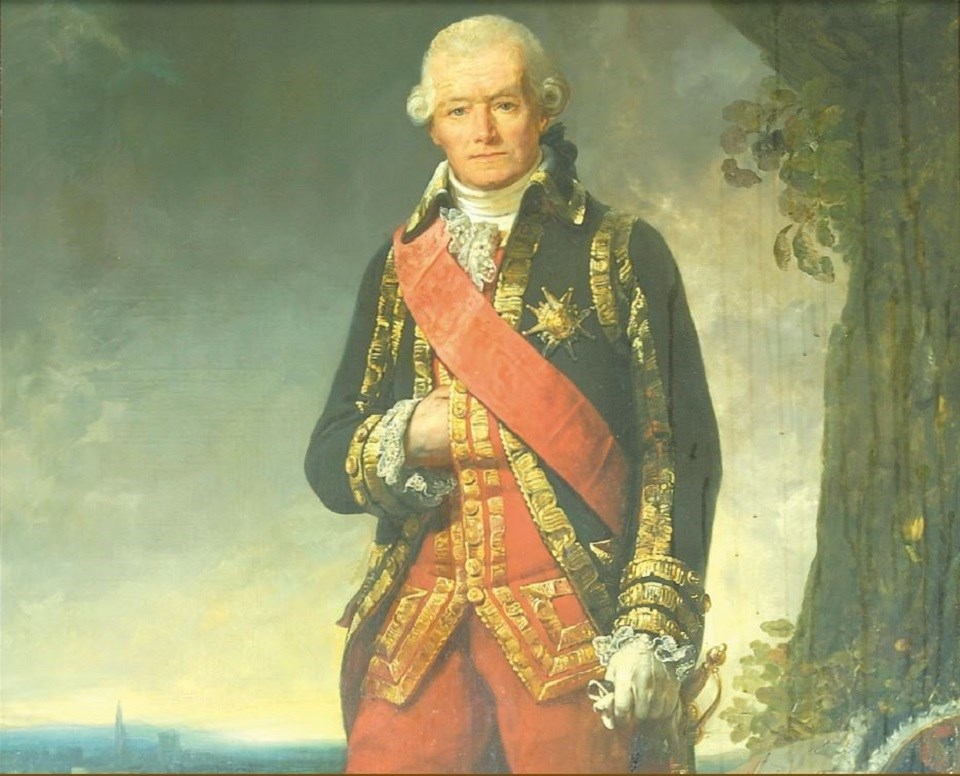 Painting of General Rochambeau