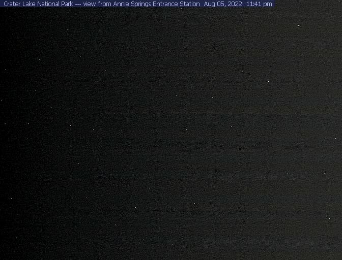 Annie Springs Entrance Webcam - Crater 