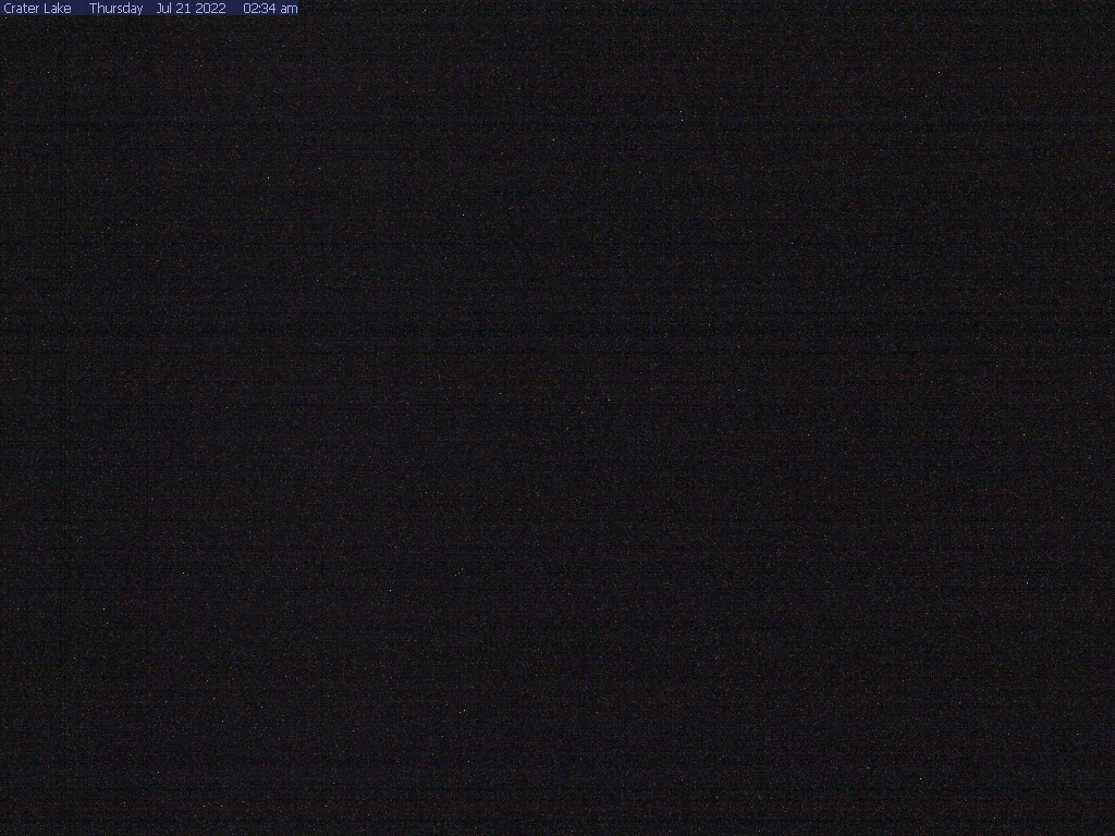 Crater Lake webcam at Crater Lake NP