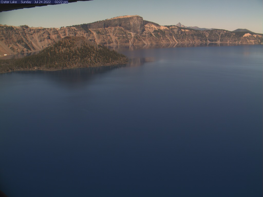 Crater Lake View Webcam Image