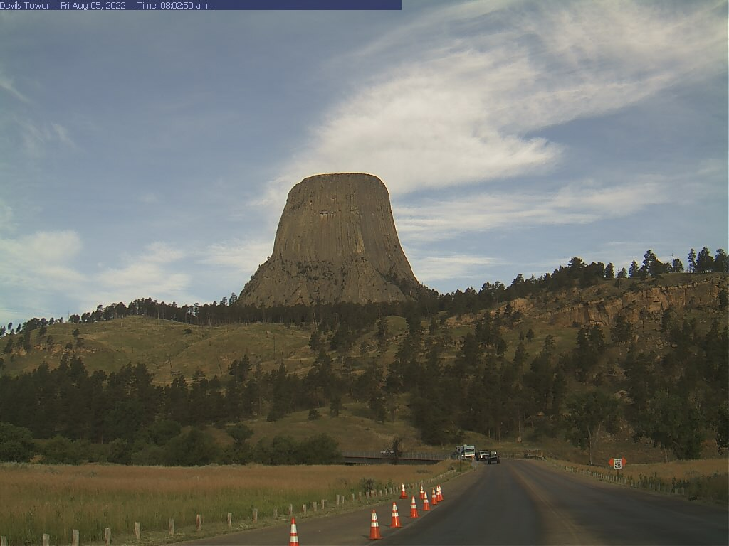 Devils Tower from Park Entrance preview image