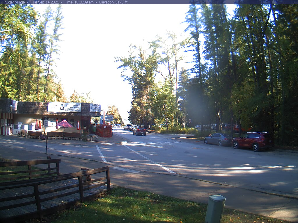 Apgar Village Webcam Image