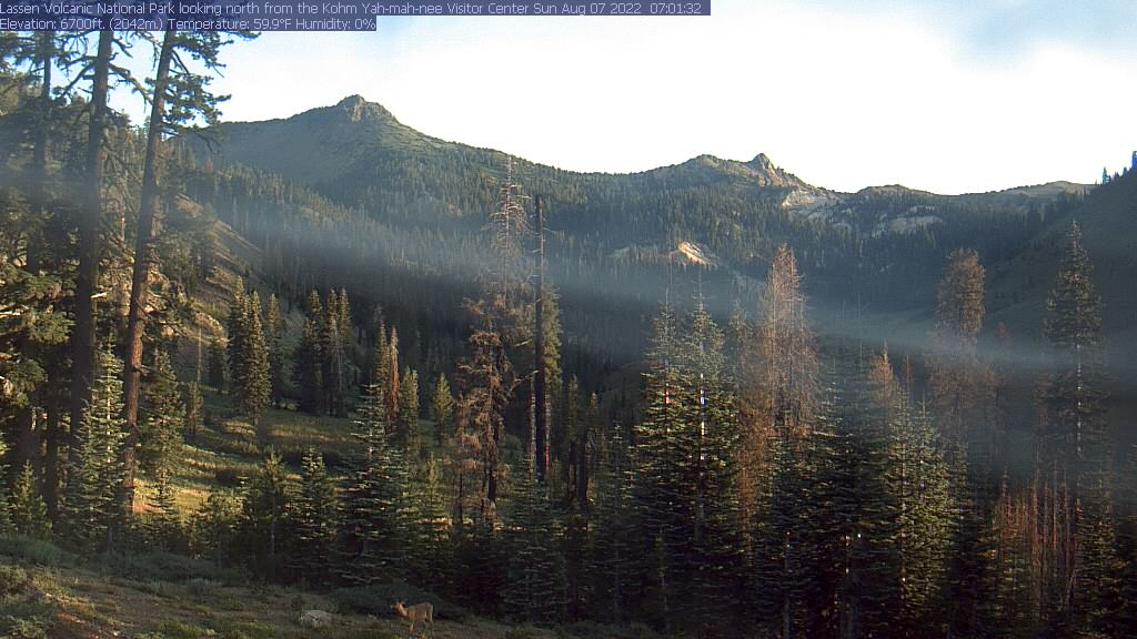 Lassen Volcanic National Park webcam