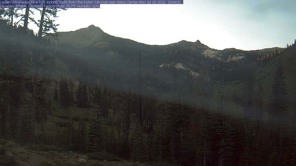 Webcam: Lassen Volcanic National Park, California, Stati Uniti d'America