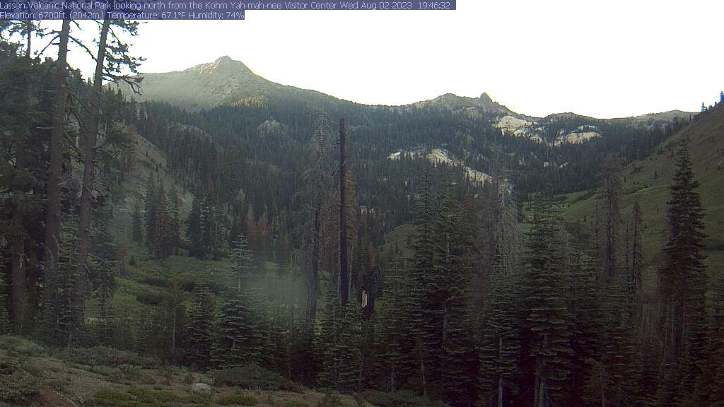 Lassen Volcanic National Park Visitor Center - Web Cam