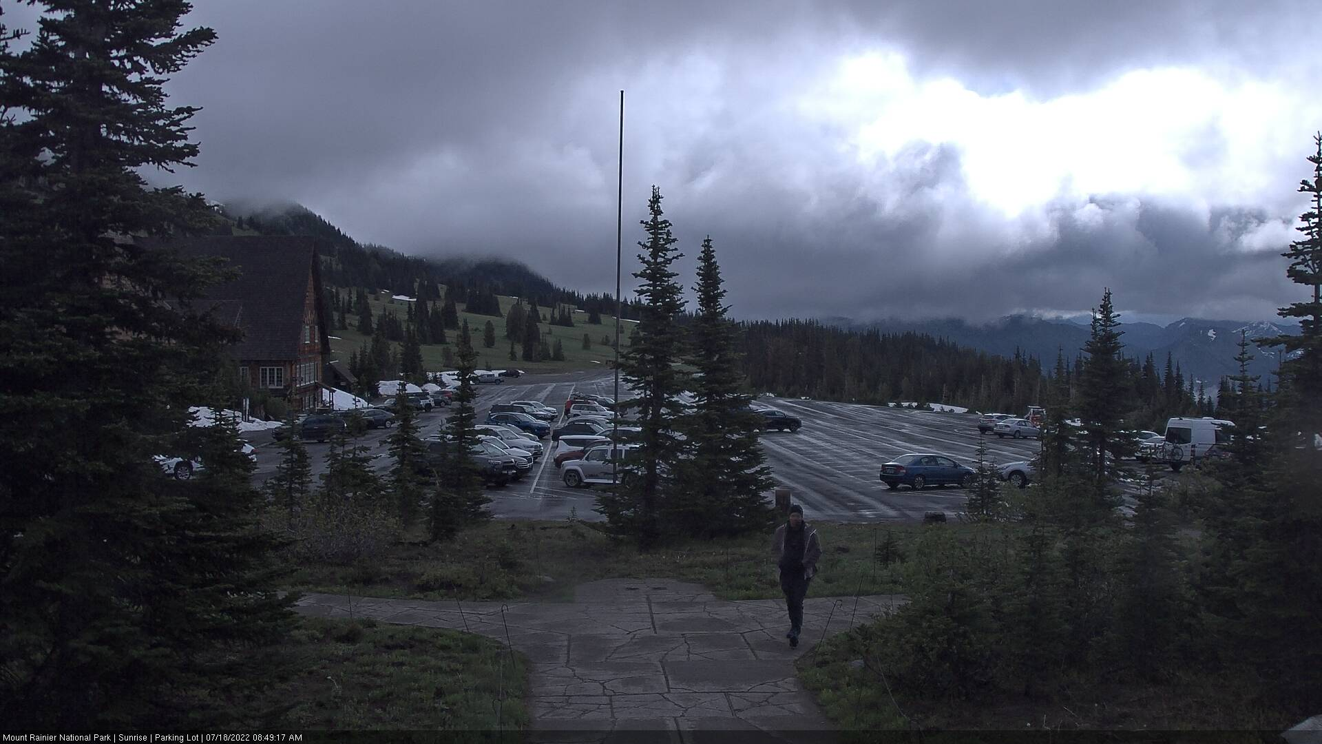 Sunrise Visitor Center on Mount Rainier