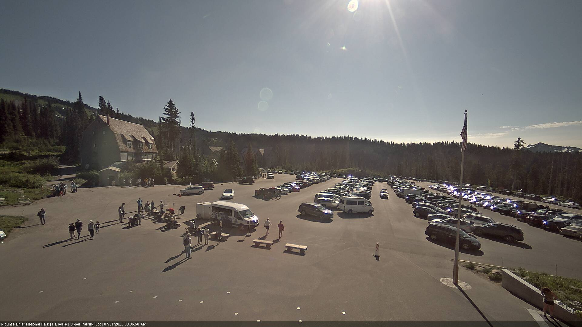 Webcam Mount Rainier NP
