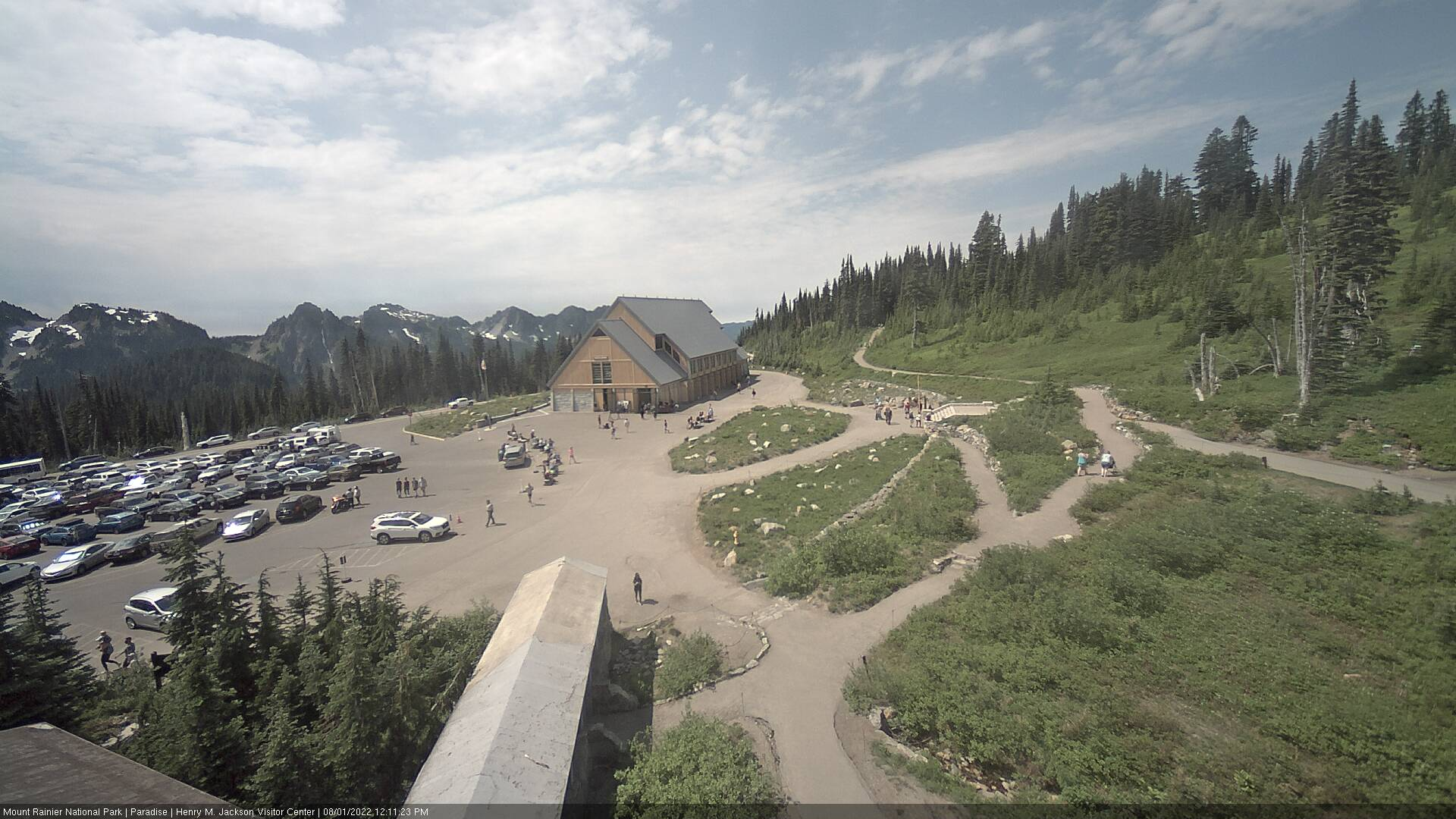 If image does not appear, please try refreshing your browser. Mountain Weather conditions often disable the camera!