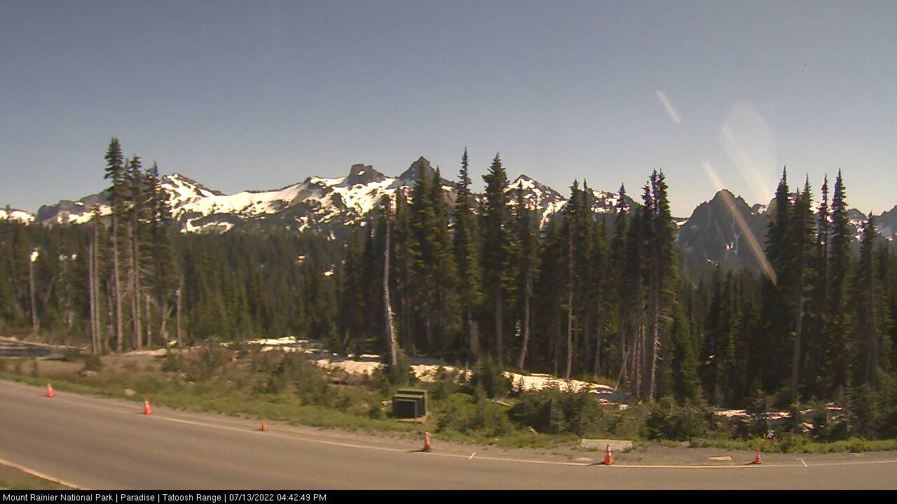 Tatoosh Range Webcam