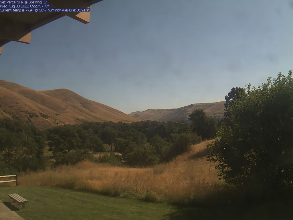 Spalding Site Webcam at Nez Perce NHP