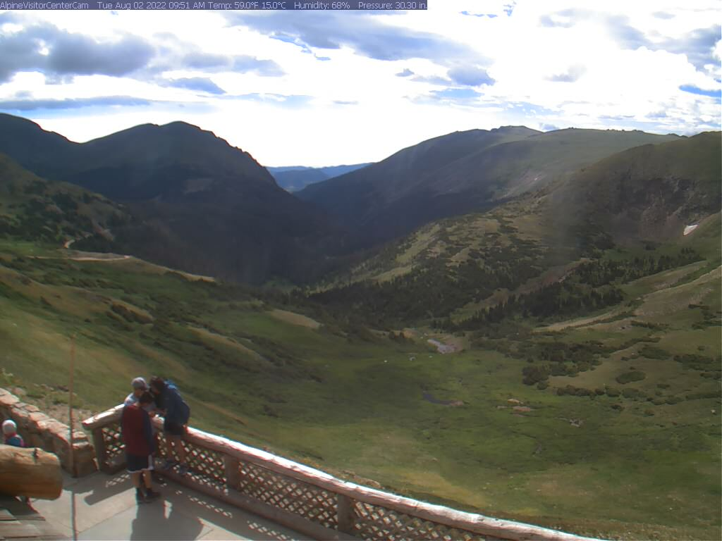 Alpine Visitor Center Webcam