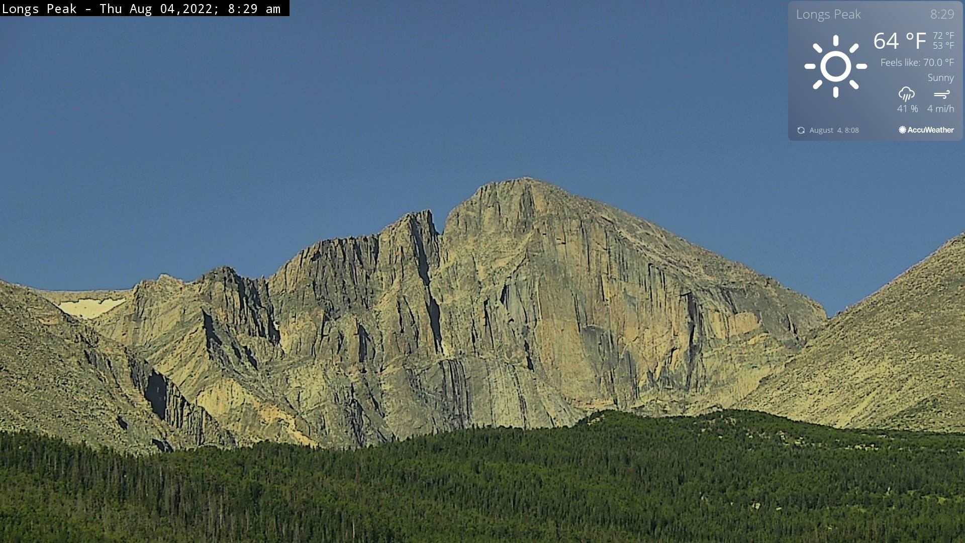 Rocky Mountain National Park Cam