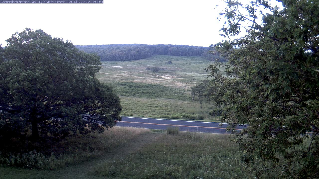Big Meadows webcam at Shenandoah                                 National Park